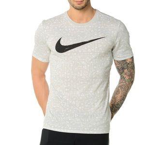 Nike Swoosh Graphic Print Tee Shirt 3XL